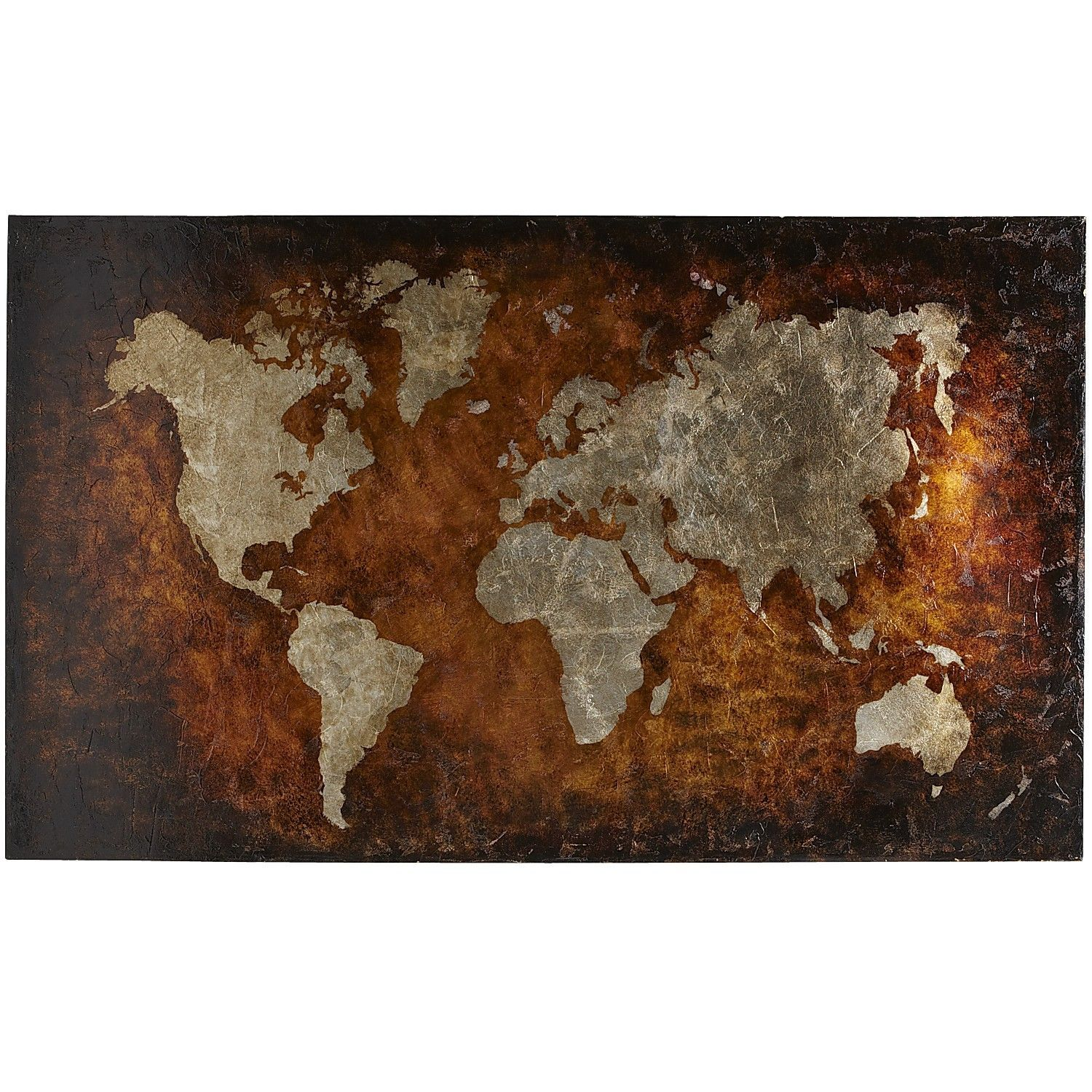 Pier 1 world map art bronze map it pinterest living room pier 1 world map art bronze gumiabroncs Image collections