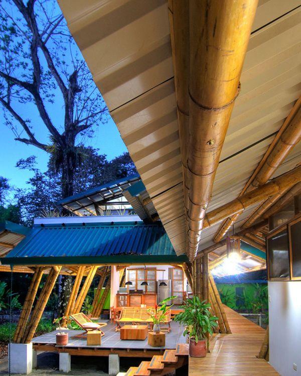 Luxury Beachfront Retreat In Costa Rica Casa Atrevida Bamboo Building Bamboo Architecture Bamboo House