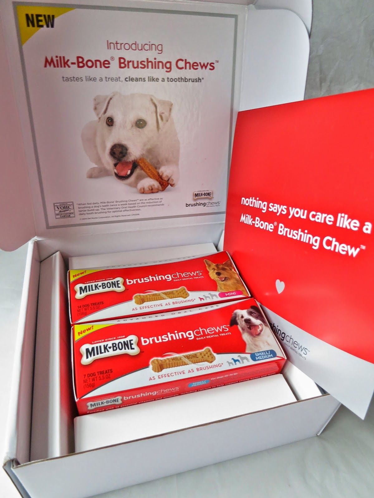 Clean your dogs teeth with milkbone a giveaway dog