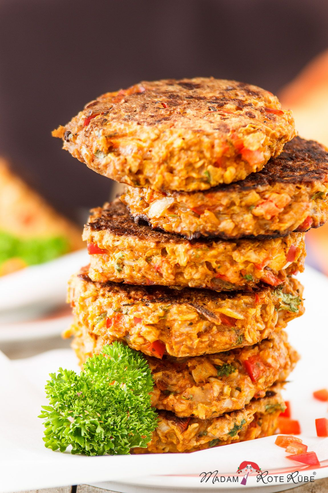 Hafer-Pflanzerl – die glückliche vegetarische Frikadelle – Madam Rote Rübe & die Landküche