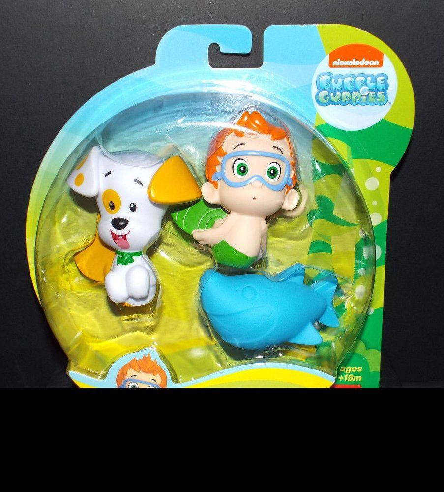 Fisher Price Bubble Guppies Bath Ers Nonny Puppy Shark New Fisherprice