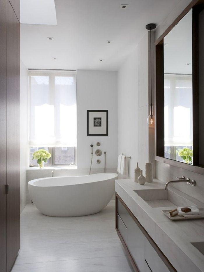 badideen dekoideen gemälde blumenvase Bad Pinterest - badezimmer neu gestalten ideen