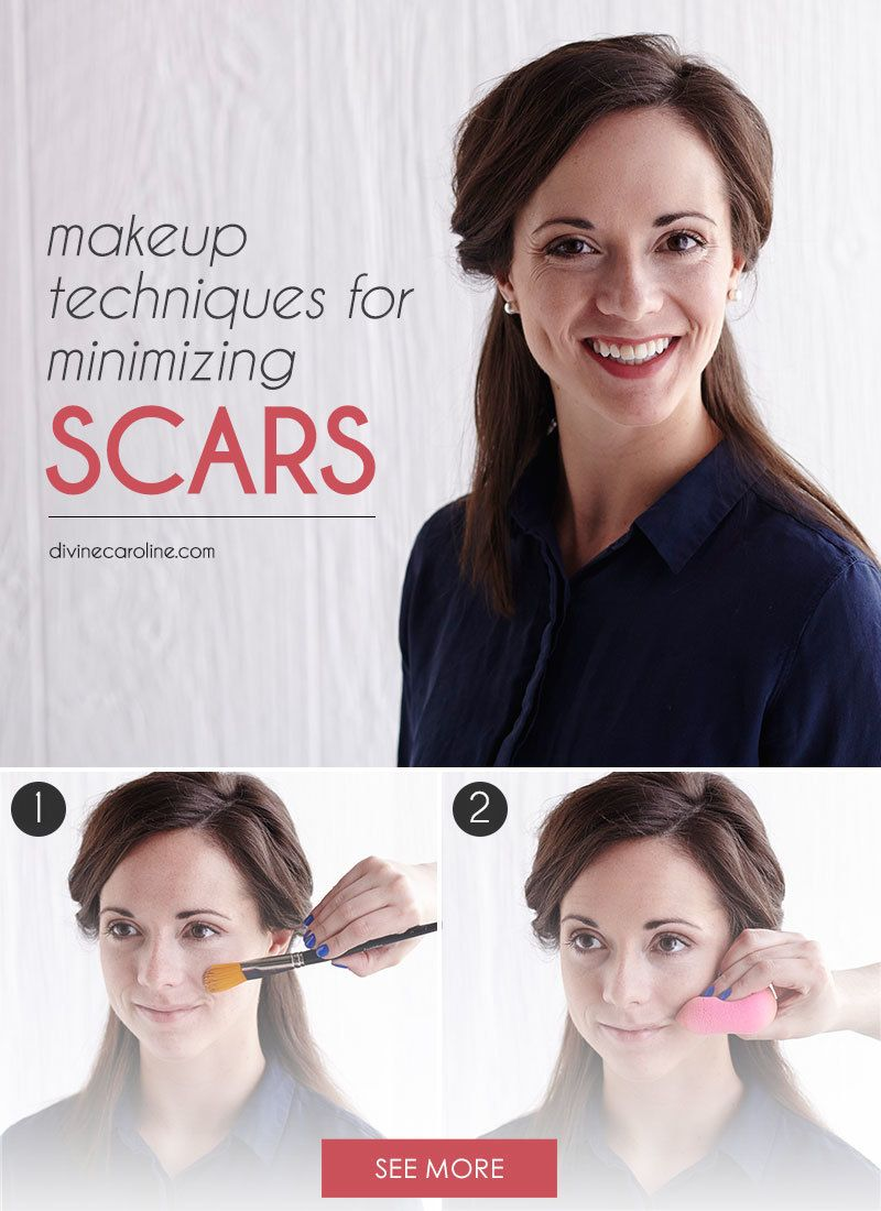 How to Lessen the Look of a Scar with Makeup Covering