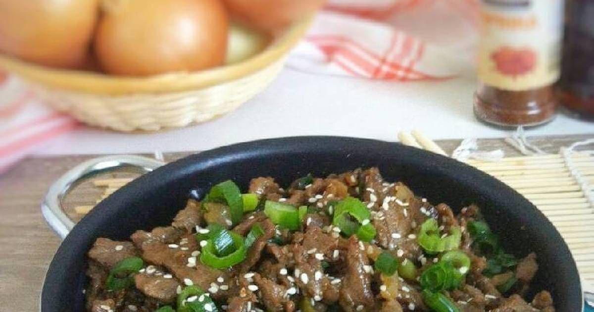 Resep Bulgogi Oleh Fitri Sasmaya Resep Masakan Korea Makan Malam Bulgogi