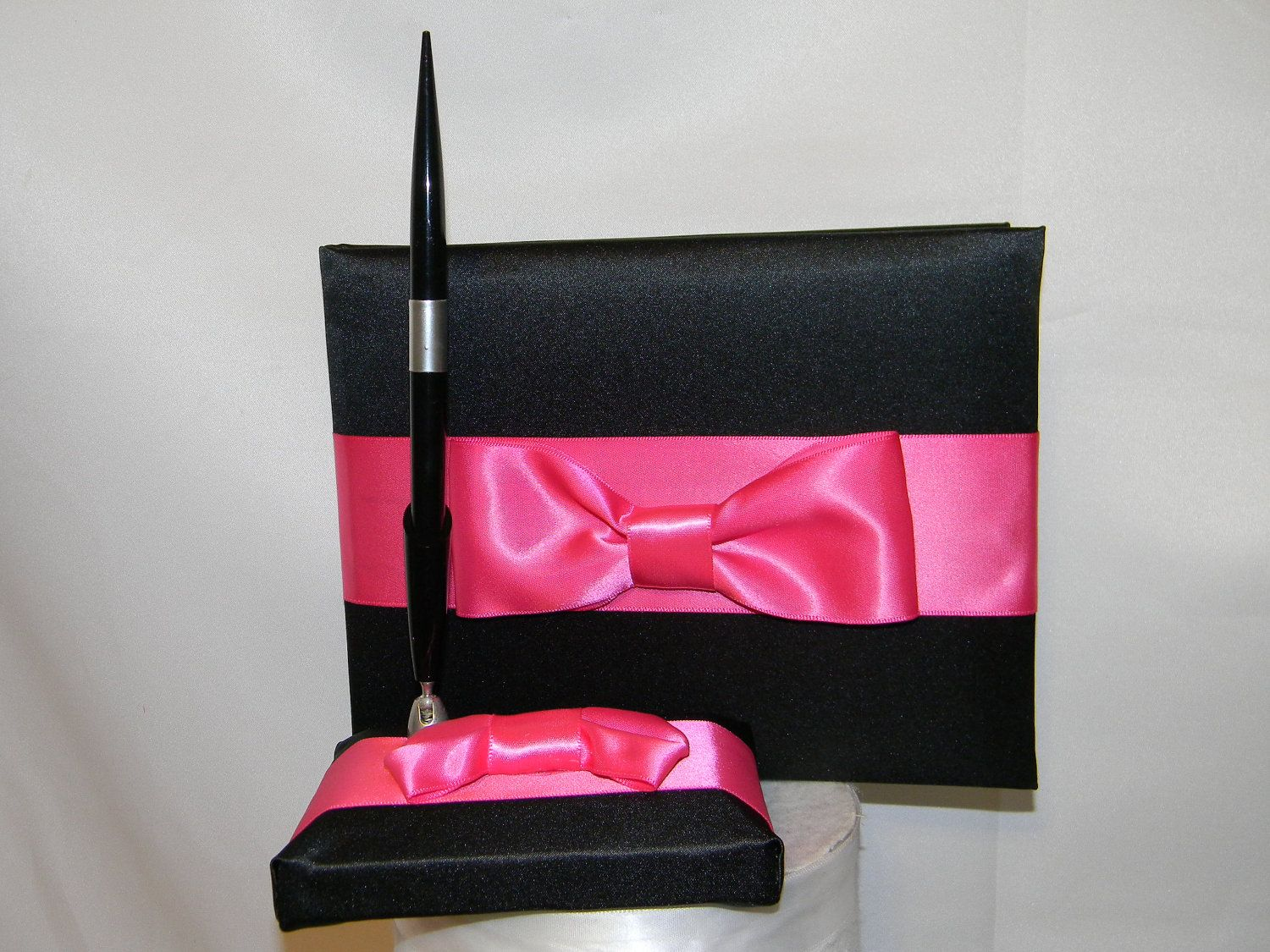 Pen And Holder Set Guest Book With Pen And Holder Set Made In Your Color And