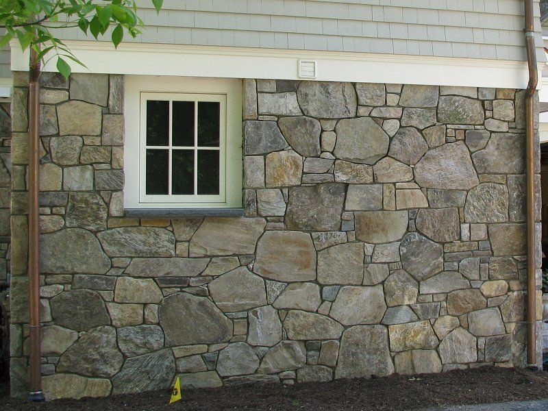 Stone siding for homes by historic new for How to install stone veneer over stucco