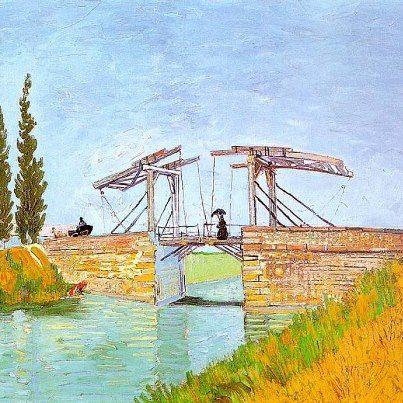 Vincent van Gogh, Il ponte di Langlois ( Maggio 1888) , Museo Wallraf-Richartz, Colonia