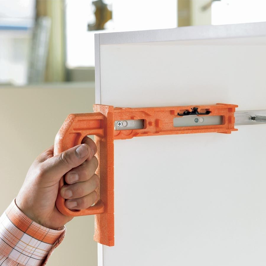 The Blum Minifix Template Is Used For The Precise Positioning Of The Cabinet Profile Screws For Blum 230m And Metabox Drawer Slides Face Frame Cabinets Drawers