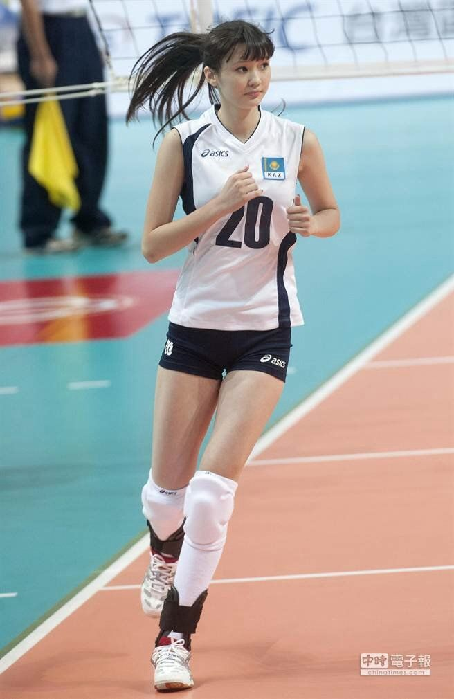 Altynbekova Sabina The Kazakhstan National Volleyball Team Women Volleyball Female Volleyball Players Sports Women