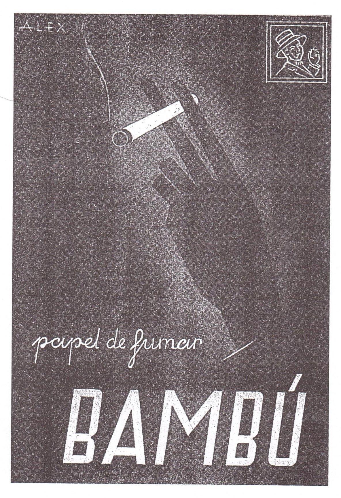 Bambu' papel de fumar