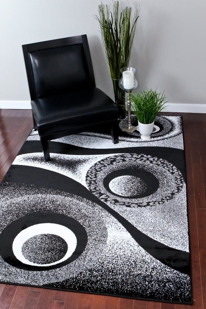 Tobis White Black Indoor Outdoor Area Rug Rugs Contemporary Area Rugs Area Rugs Cheap