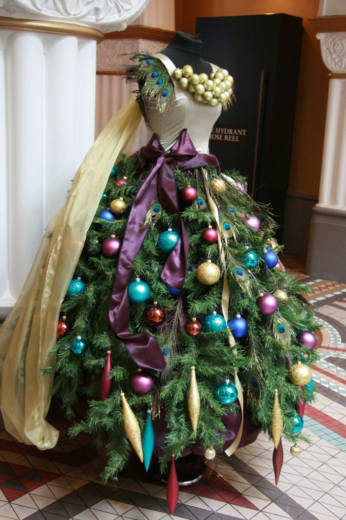 Next Year At Christmas Dress Form Christmas Tree