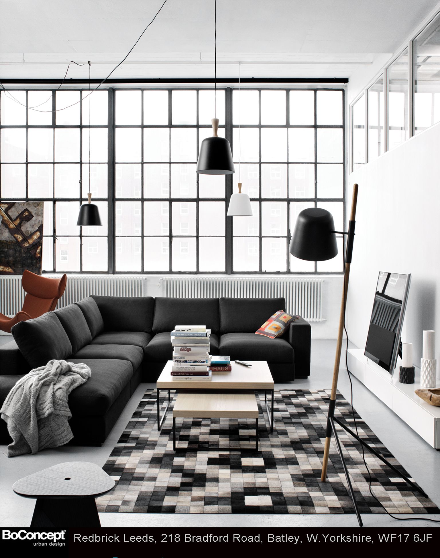 Relax in the comfort & style with BoConcept @redbrick_mill ...