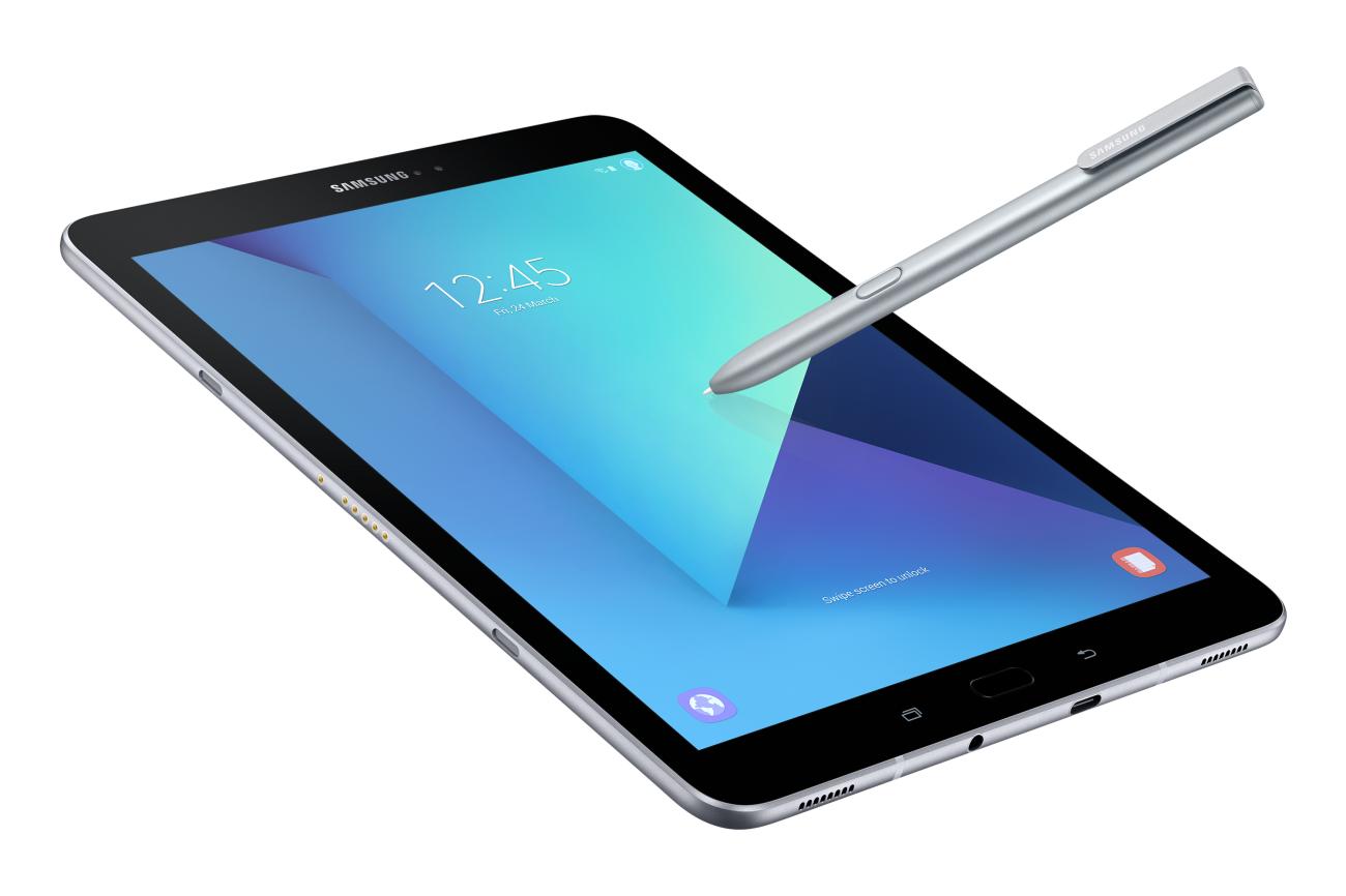 Samsung S Galaxy Tab S3 With Stylus Introduced At Mwc Galaxy Tab Samsung Galaxy Tab Tablet