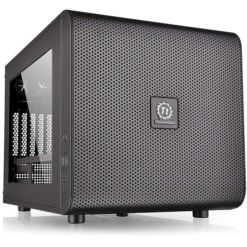 Thermaltake Core V21 Micro ATX Cube Computer Case. Mini