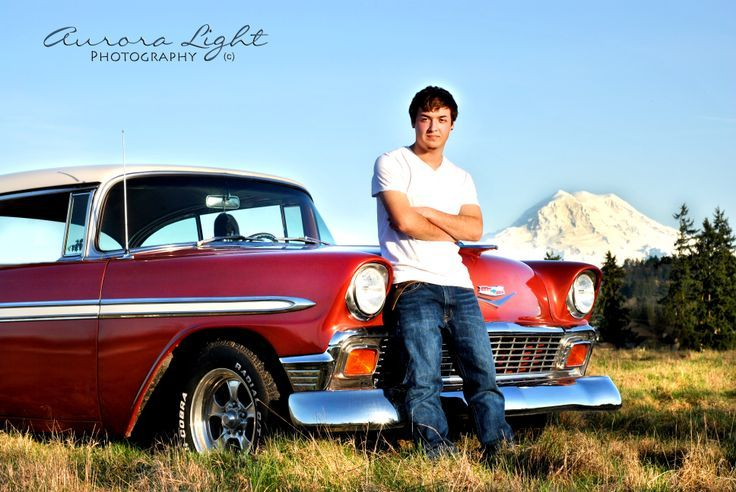 Senior Portraits With Old Cars Senior Portraits Classic Cars