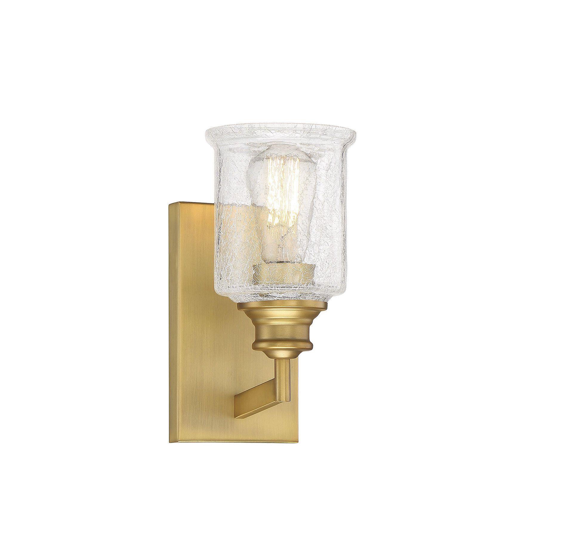 Photo of Hampton Warm Brass 1 light bath