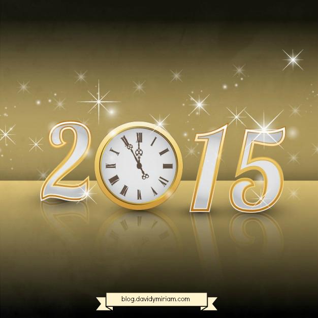 Desde www.davidymiriam.com os deseamos un feliz 2015  #davidymiriam #2015 blog.davidymiriam.com