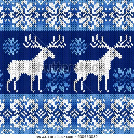 knit snowflake pattern - Google Search | Fair isle and intarsia ...