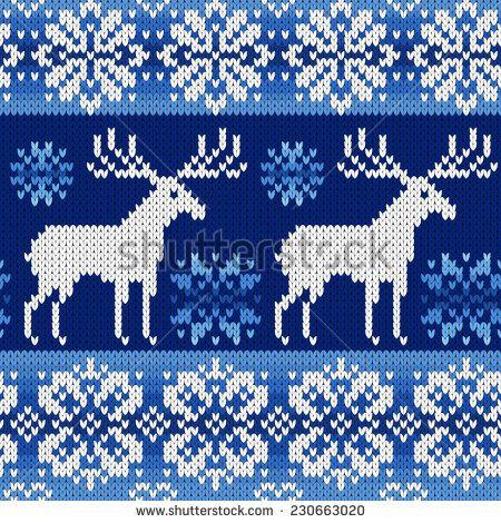 Knit Snowflake Pattern Google Search Fair Isle And Intarsia