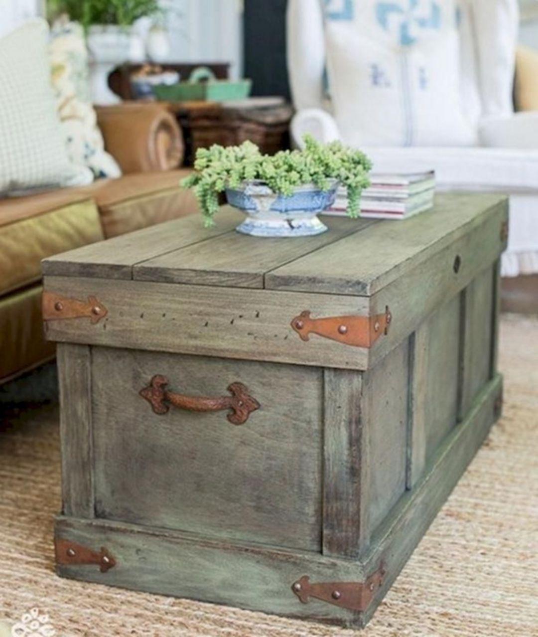 25 great farmhouse coffee table design and decor ideas