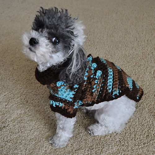 Bentley Bobbles Dog Sweater Pattern By Stitchwerx Designs Crochet Stunning Crochet Dog Sweater Pattern Easy