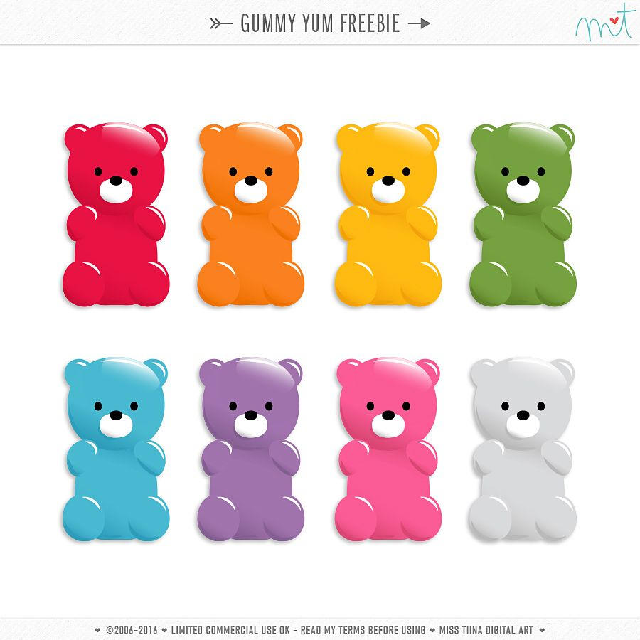 picture about Gummy Bear Printable named Pin upon Gummy bears
