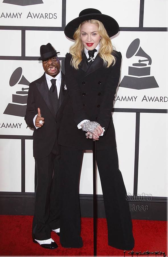 Madonna And Beetlejuice At The Grammys Picture Superfanworld Grammy Madonna Beetlejuice