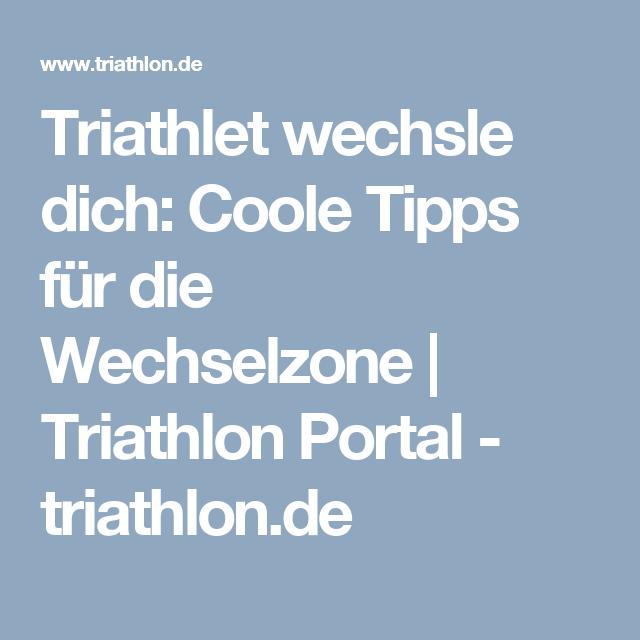 Triathlet wechsle dich: Coole Tipps für die Wechselzone | Triathlon Portal - triathlon.de