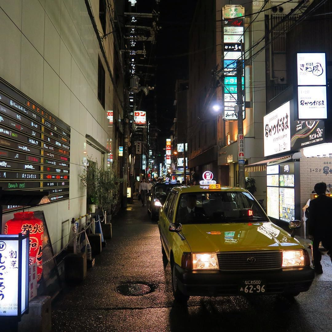 OSAKA #osaka #japan #japon  #night #nipon #street #streets #streetlife #streetshot #streetview #streetphotography #streetphoto  #ig_street #city #citylife #citytrip #cityview #citynight #citylights #citybestpics #cityscape #wu_japan #wu_asia #taxi #ig_japan #igersjp #lonelyplanet #loves_nippon #team_jp_西 #team_jp_ by valere_le_vagabond