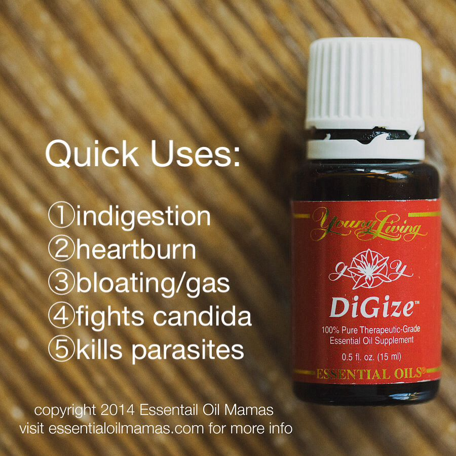 Uses For Digize Young Living Essential Oils Yleo