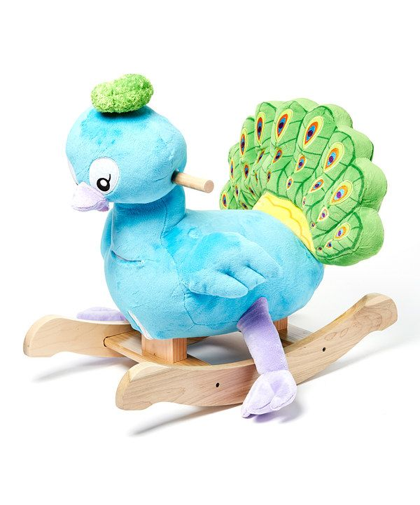 Look at this Poppy Peacock Rocker on #zulily today!