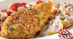 fridays parmesan crusted chicken<3 | i'll eat to that | pinterest