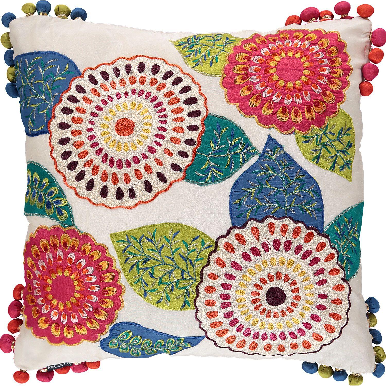 Paoletti Multicolour Kerala Cushion 43x43cm Tk Maxx Cushions