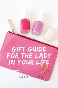 Gift Guide for the Lady in Your Life - Iheartfrugal. Still need a gift idea for the lady/woman in your life?