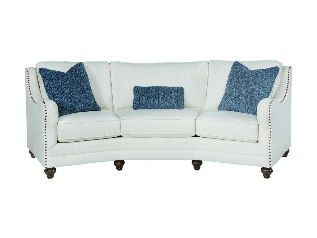 Bassett Living Room Conversation Sofa Conversation Sofa Room