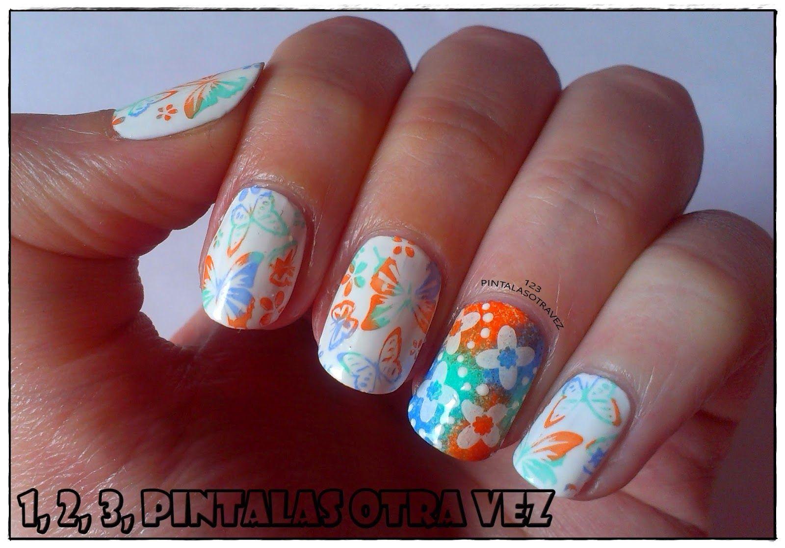 Manicura Spring Nails. Concurso Pueen 32;39