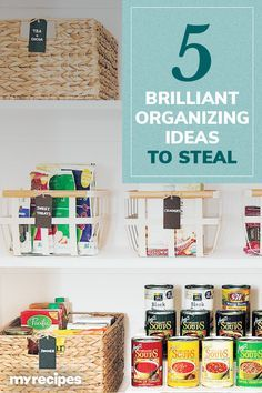 5 Brilliant Organizing Ideas to Steal From the Most Inspiring Pantries |