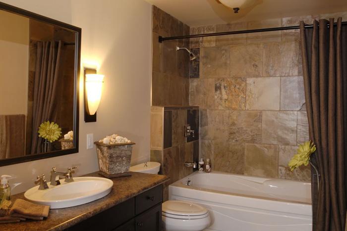 Salas con pisos de ceramica ba os 500 fotos de cuartos - Ceramica beige para bano ...