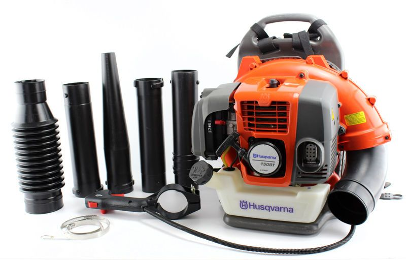 Husqvarna 150bt 50cc 2 Cycle Gas Leaf Backpack Blower Certified Refurbished Free 1 3 Day Delivery With Hassle Free 60 D Backpack Blowers Blowers Husqvarna