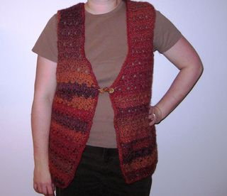 Ravelry: Two-Tone Crochet Vest pattern by Mary Jane Protus
