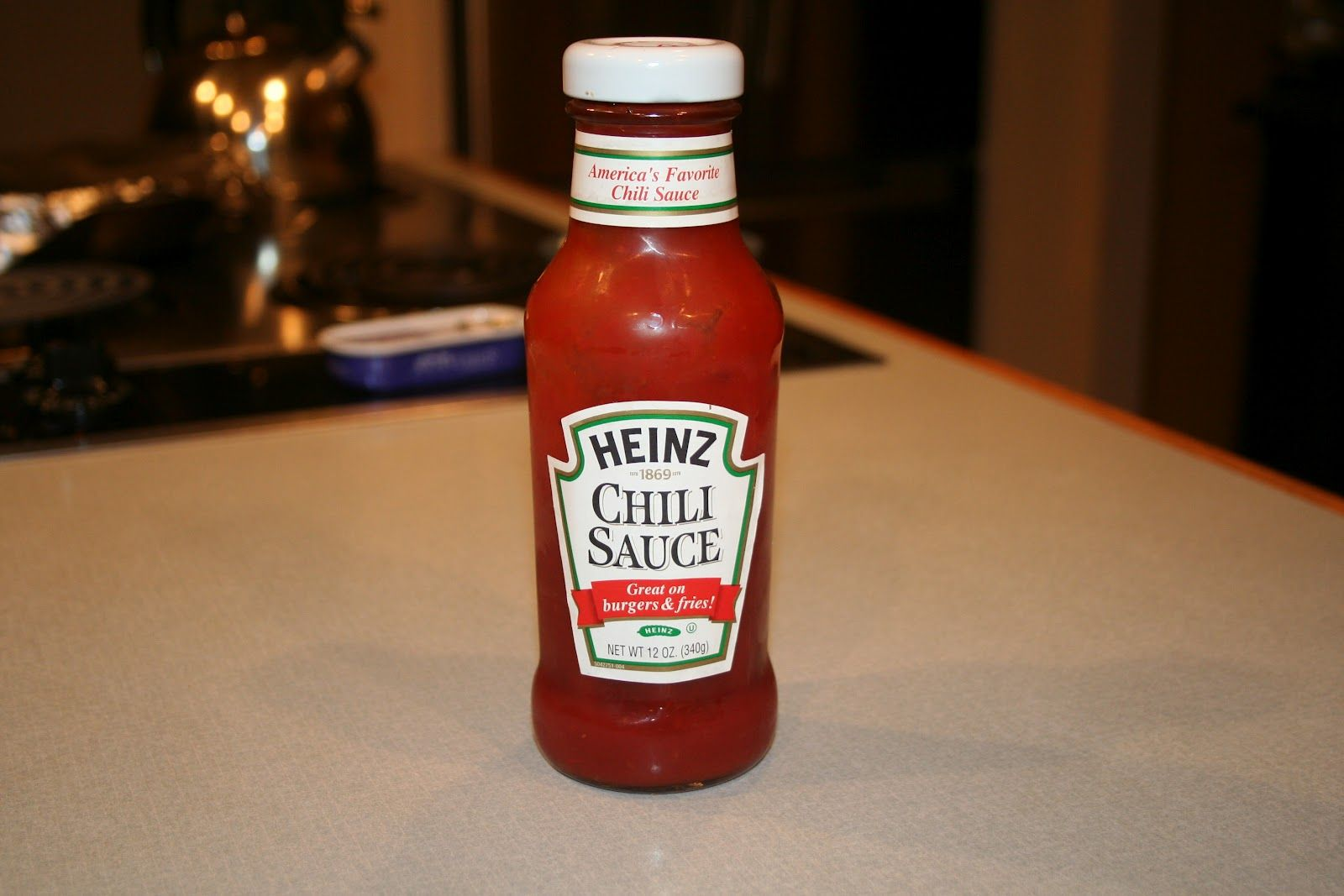 Smashing chili sauce dressing for spinach salad 1/3 cup Heinz chili ...