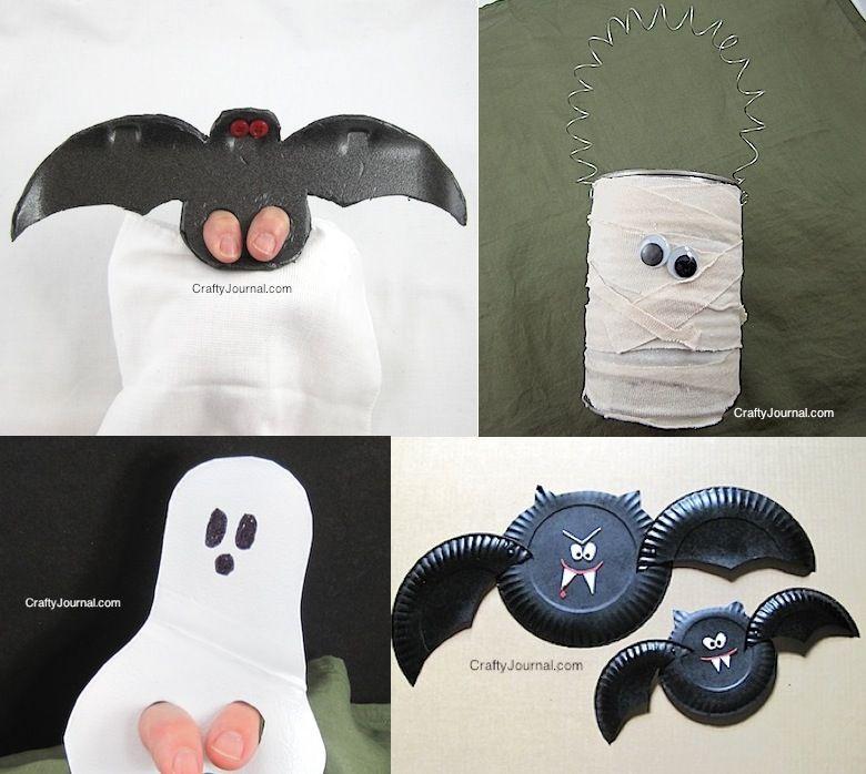 Diy Manualidades Para Hacer En Halloween Con Niños Manualidades Para Niños Cosas De Niños Manualidades