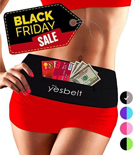 YesBelt 1 REVERSIBLE Running Belt and Waist Pack w ZIPPER  Better than Cell Phone Sports Armband  iPhone 6 Plus  Best Travel Money Belt  Stylish Fitness Zip n Flip Band for Workout  Black S *** Check out this great product.(This is an Amazon affiliate link and I receive a commission for the sales)