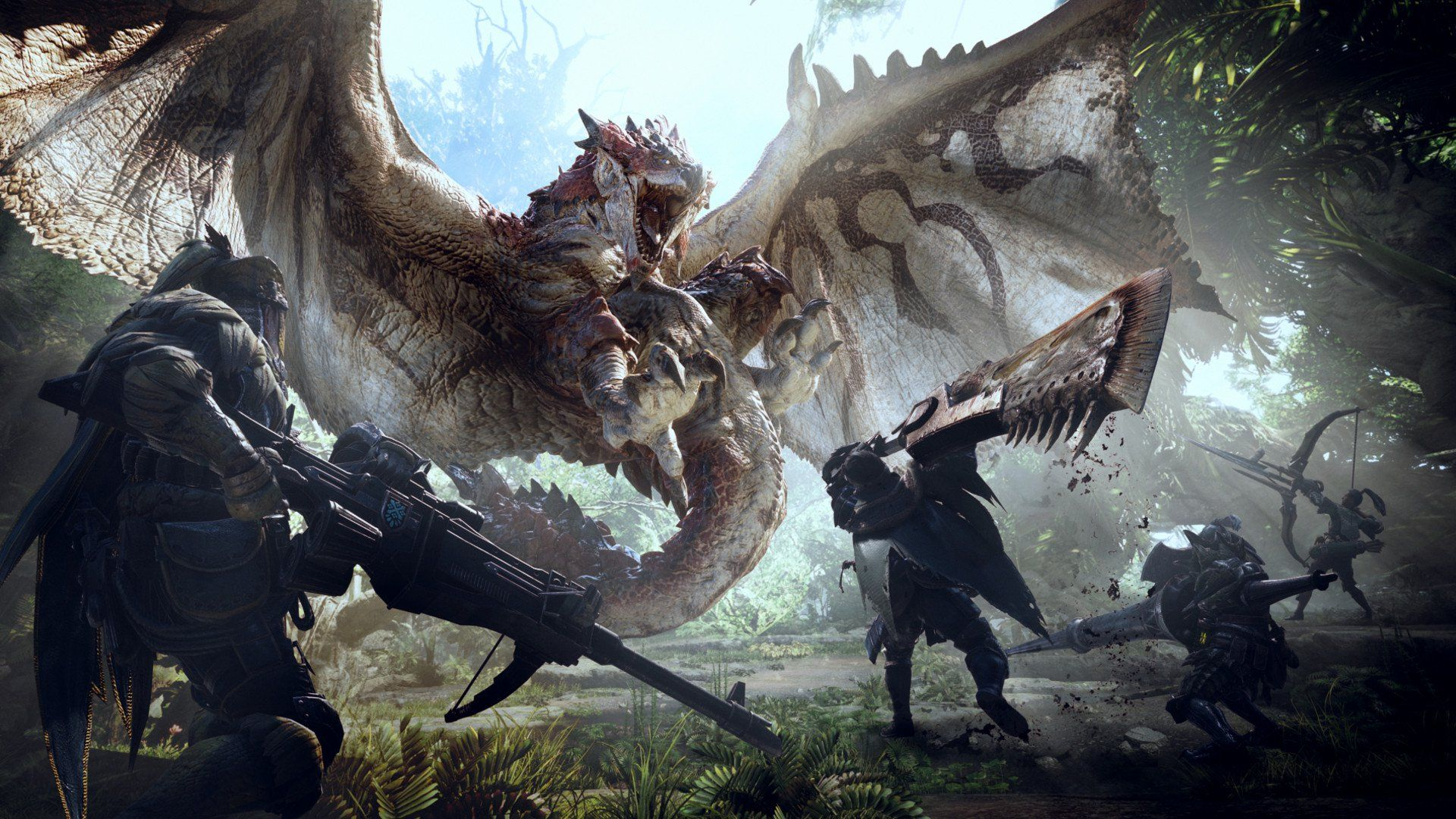 Monster Hunter World Helps Achieve Most Profitable Year In Capcom S History Monster Hunter World Wallpaper Monster Hunter World Monster Hunter