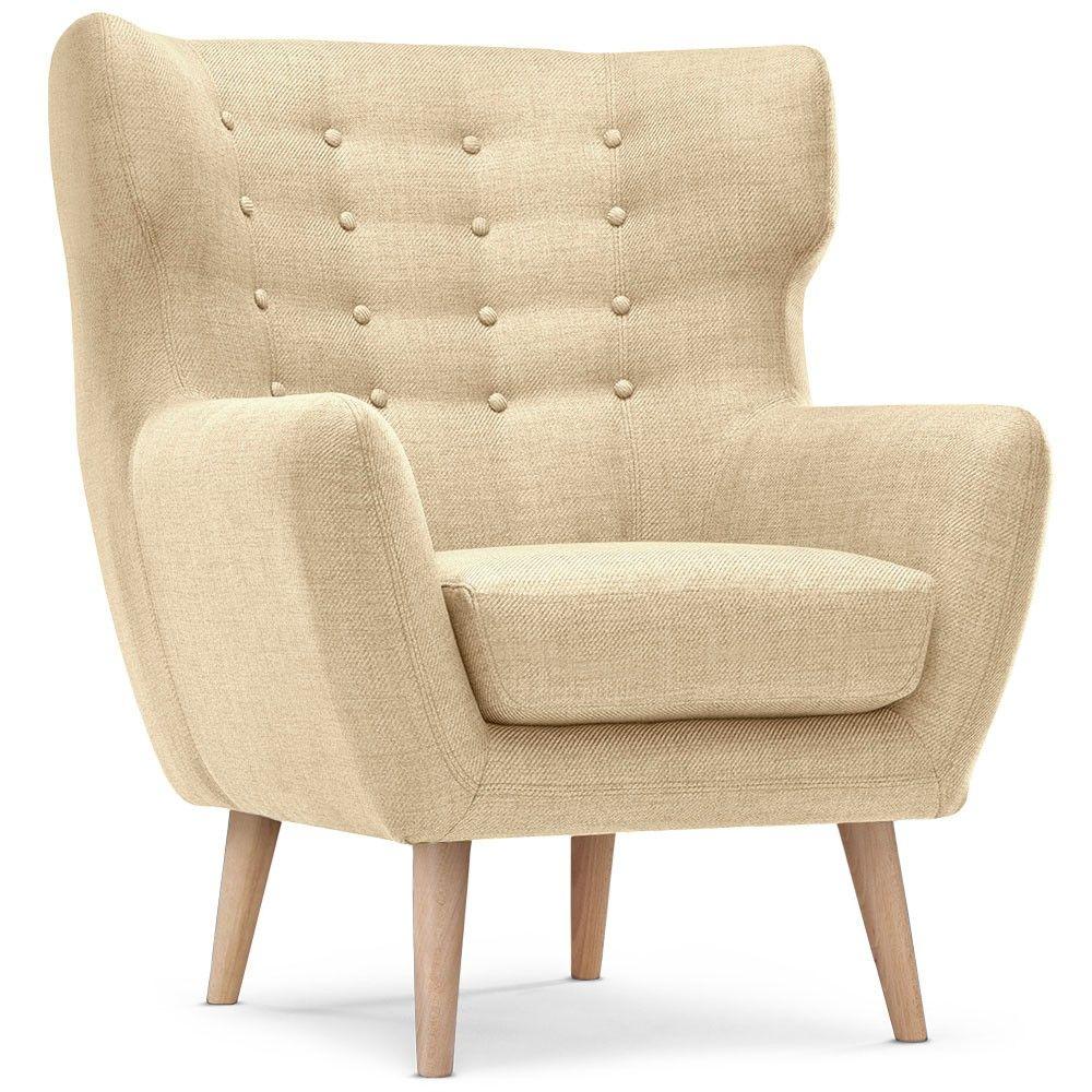 voici un fauteuil berg re il dispose d 39 une belle assise. Black Bedroom Furniture Sets. Home Design Ideas