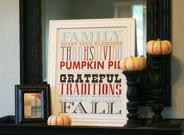 Thanksgiving subway printable