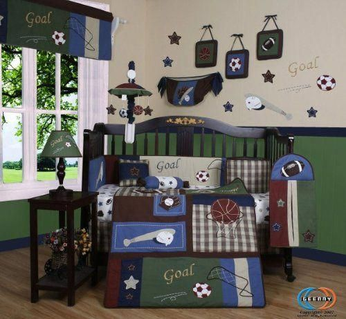 Baby Boy Nursery Bedding For Sports Themed Baby Room Boutique