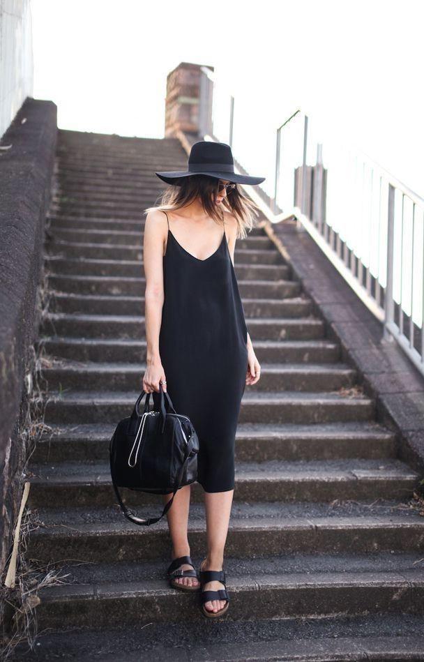 Black Slip Dress 1 Mais