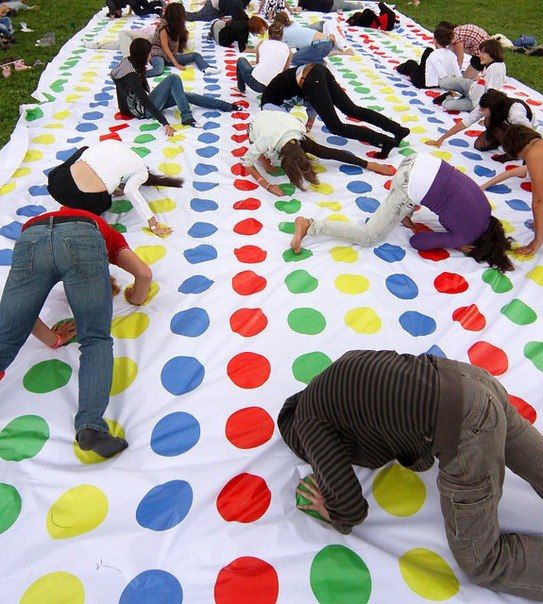 #Twister Party In The Sokolniki Park #Moscow